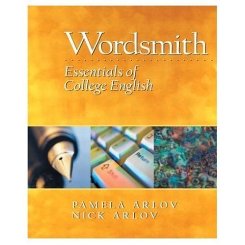 9780130492654: Wordsmith: Essentials Of College English (Instructor's Edition)