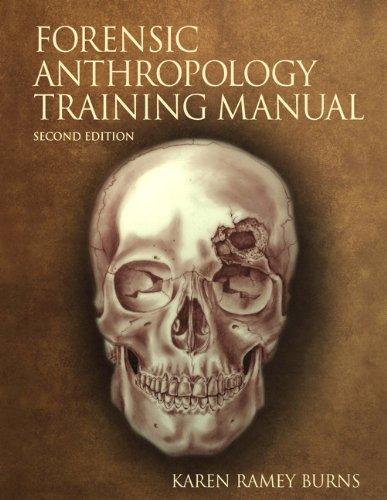 9780130492937: Forensic Anthropology Training Manual
