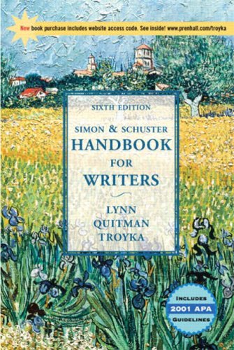 9780130493019: Simon And Schuster Handbook for Writers
