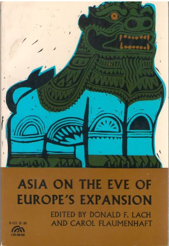 9780130493613: Asia on the Eve of Europe's Expansion