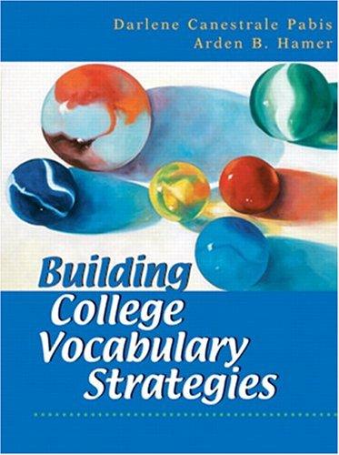 9780130493651: Building College Vocabulary Strategies
