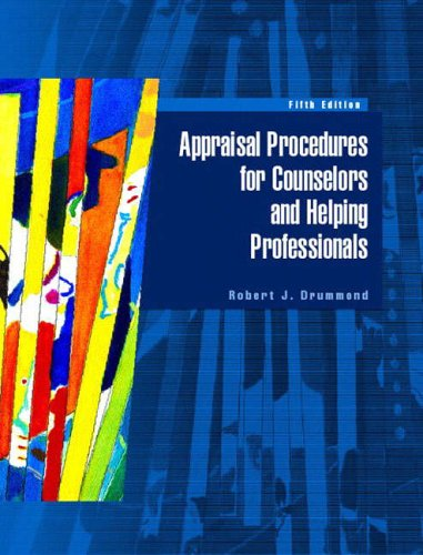 9780130494160: Appraisal Procedures for Counselors and Helping Professionals