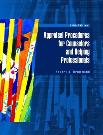 9780130494160: Appraisal Procedures for Counselors and Helping Professionals (5th Edition)