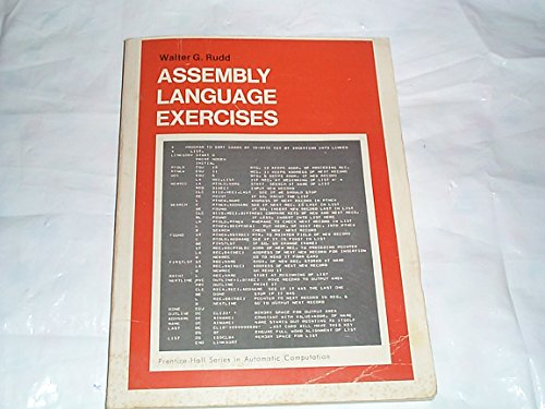 9780130495105: Assembly Language Programming and the IBM 360 and 370 Computers