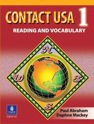 9780130496232: Contact USA 1: Reading and Vocabulary
