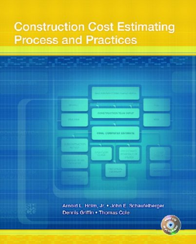 9780130496652: Construction Cost Estimating: Process and Practices