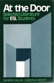 9780130496768: At the Door: Selected Literature for Esl Students
