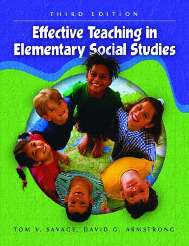 9780130497017: Effective Teaching in Elementary Social Studies, Fifth Edition