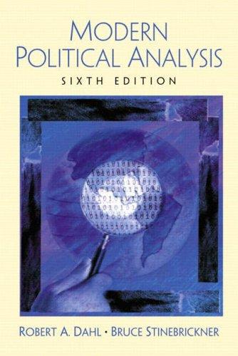 9780130497024: Modern Political Analysis (6th Edition)