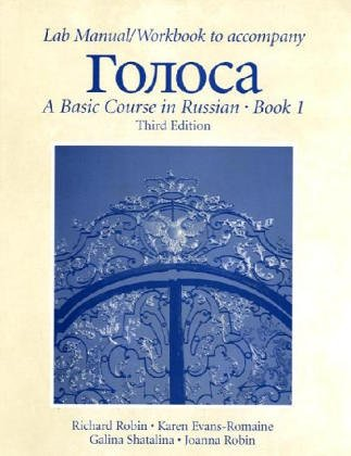 9780130497055: Lab Manual/Workbook to accompany Golosa: Basic Course in Russian Book 1 (Russian Edition)