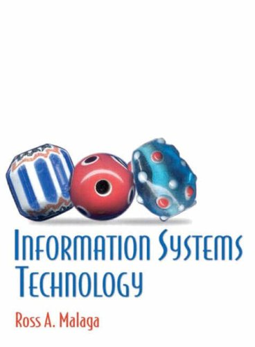 9780130497505: Information Systems Technology