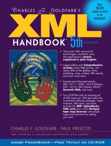 9780130497659: Charles F. Goldfarb's XML Handbook (5th Edition) (Charles F. Goldfarb Definitive XML Series)