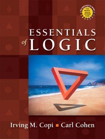 9780130497970: Essentials of Logic