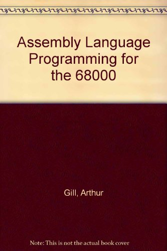 9780130498274: Assembly Language Programming for the 68000