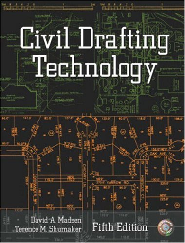 9780130498793: Civil Drafting Technology, Fifth Edition