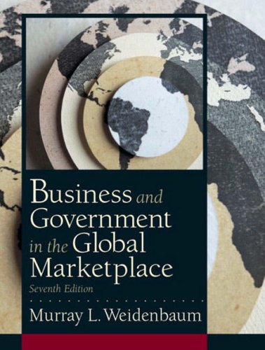 9780130499028: Business and Government in the Global Marketplace (7th Edition)
