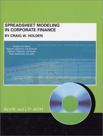 9780130499059: Spreadsheet Modeling in Corporate Finance