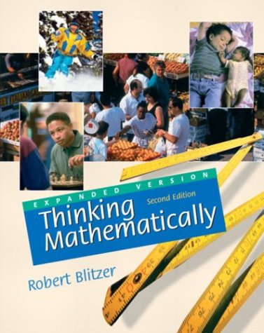 9780130499110: Thinking Mathematically (Expanded 2nd Edition)