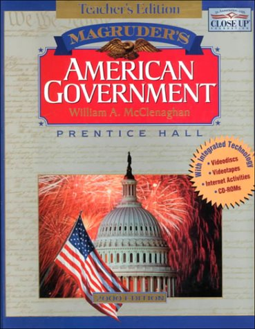 9780130500175: Magruder's American Government, Teacher's Edition