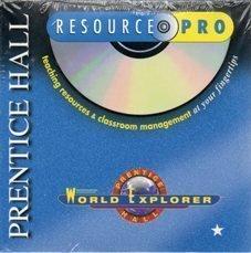 9780130501776: Prentice Hall World Explorer Resource Pro CD ROM