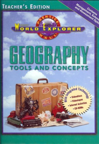 9780130502278: Geography Tools and Concepts Teacher's Edition