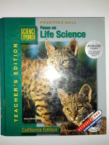 9780130503053: Focus on Life Science, Teacher's Edition (Science Explorer)