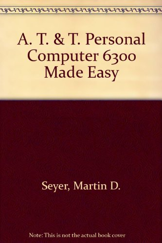 9780130503299: At&t PC 6300 Made Easy