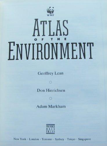 9780130504692: Atlas of the Environment