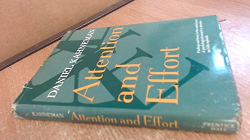 9780130505187: Attention and Effort (Experimental Psychology)