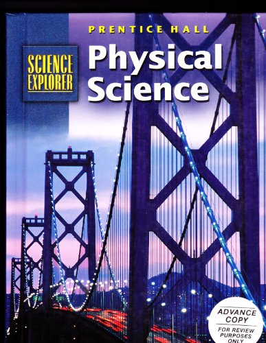 Sci Explorer Physical Science Student Edition 2001c