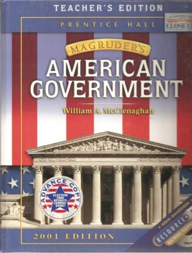 Prentice Hall Magruders American Government Teacher Edition: Magruder