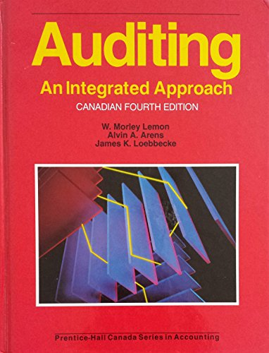 9780130509727: Auditing: An Integrated Approach