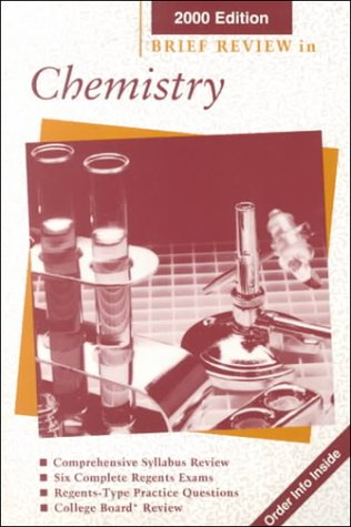 9780130509796: Brief Review in Chemistry