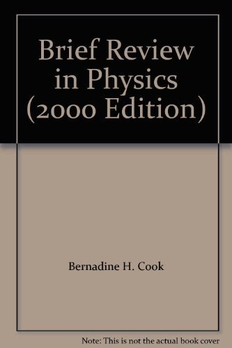 9780130509833: Brief Review in Physics (2000 Edition)