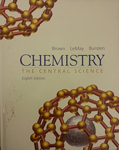 9780130509871: Chemistry: The Central Science, 8th Edition (Book & CD)
