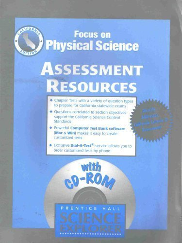 9780130512246: Focus on Physical Science Assessment Resource