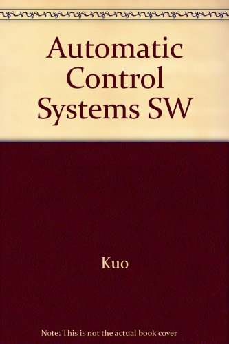 9780130512697: Automatic Control Systems SW