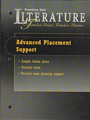 PRENTICE HALL LITERATURE, TIMELESS VOICES TIMELESS THEMES,