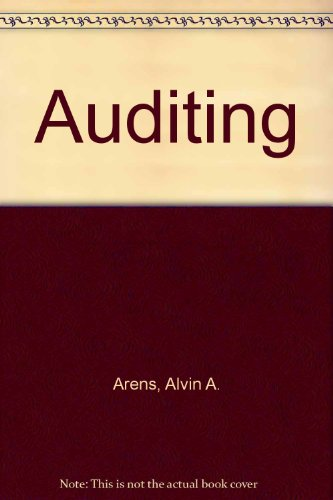 Auditing: An Integrated Approach