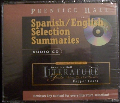 9780130518873: Timeless Voices, Timeless Themes, Spanish/English Selection Summaries Audio CD, Copper Level