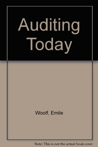 9780130520777: Auditing Today