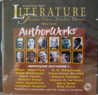 9780130521330: Prentice Hall Literature: Author Works - American Authors One (Silver Level American Authors 1)