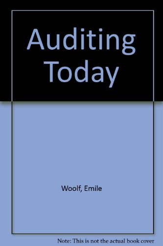 9780130521422: Auditing Today