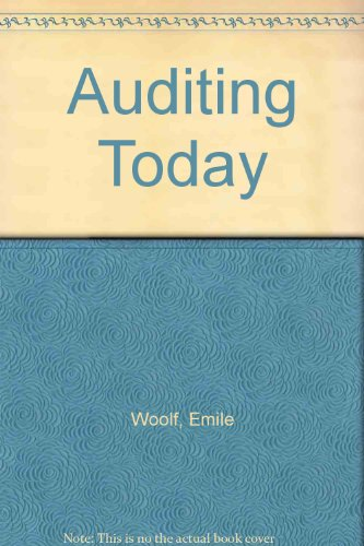 9780130521590: Auditing Today