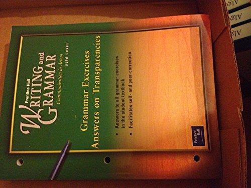 Writing and Grammar, Grade 9 : Communication: Joyce Armstrong Carroll,