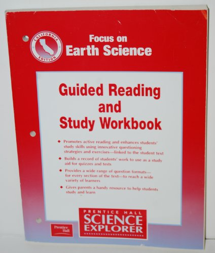 9780130527271: Focus on Earth Science - California Edition: Guide Reading and Study Workbook