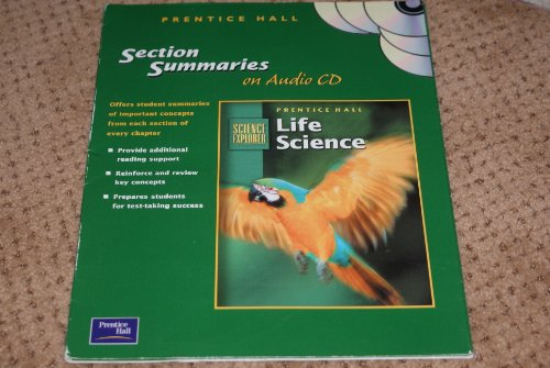 9780130529343: Section Summaries on Audio CD (Prentice Hall Life Science, Science Explorer)