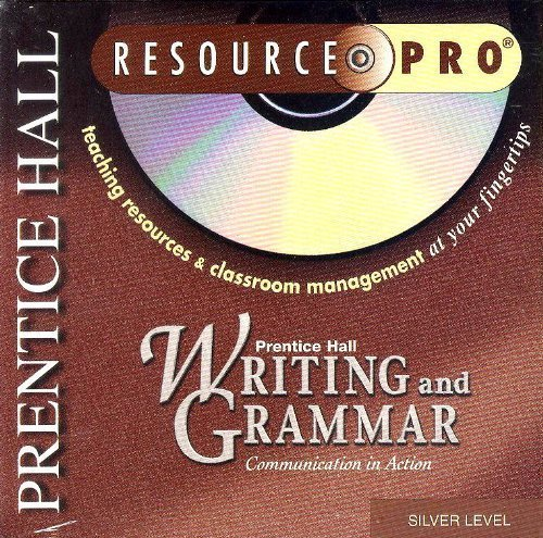 9780130530196: Writing and Grammar Silver Level Resource Pro CD-ROM (Communication in Action)