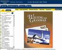 9780130530509: WRITING &GRAMMAR 1 EDITION I-TEXT CD-ROM GRADE 8 2001C