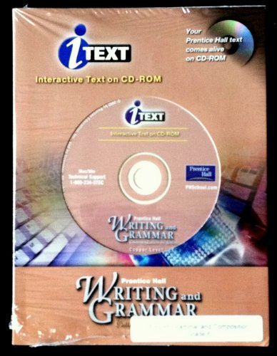 9780130530516: Writing And Grammar: Interactive Text on CD-ROM (Gold Level)
